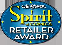 2019 Will Eisner Spirit of Comics Retailer Award