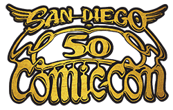 Comic-Con 50 July 18-21, 2019 at the San Diego Convention Center