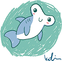 You Can Draw with Katie Cook: A Hammerhead Shark