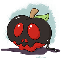 A Witch's Poison Apple!