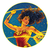 WonderCon Anaheim 2020 Cover and T-shirt Art by Jen Bartel