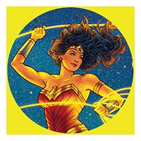 WonderCon Anaheim 2020 Cover and T-shirt Art by Jen Bartel