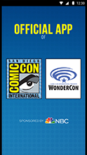 Official Comic-Con App Updated with WonderCon 2016 Info!