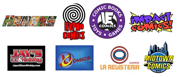 2015 Will Eisner Spirit of Comics Retailer Award Nominees