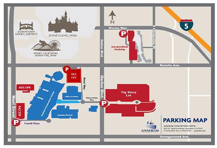 WonderCon Anaheim 2015 Parking