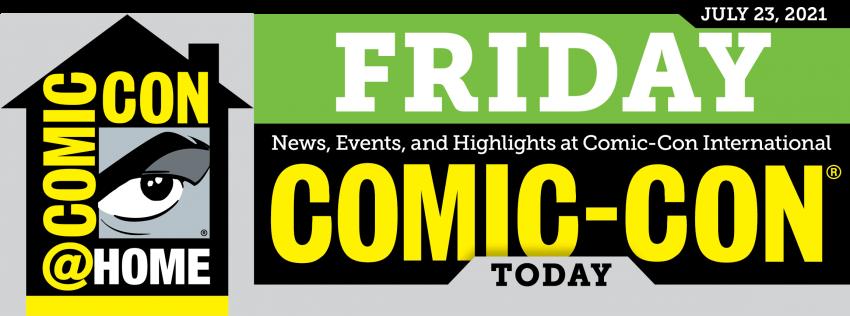 Comic-Con Today Friday Header