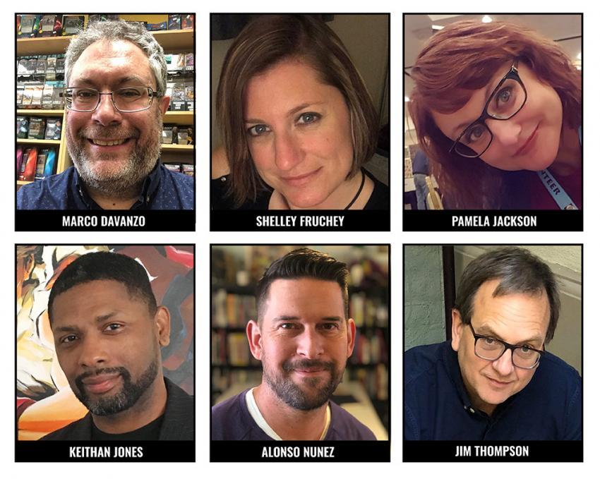 2021 Will Eisner Comic Industry Awards Judges