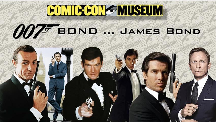 Comic-Con Museum Presents: Bond ... James Bond