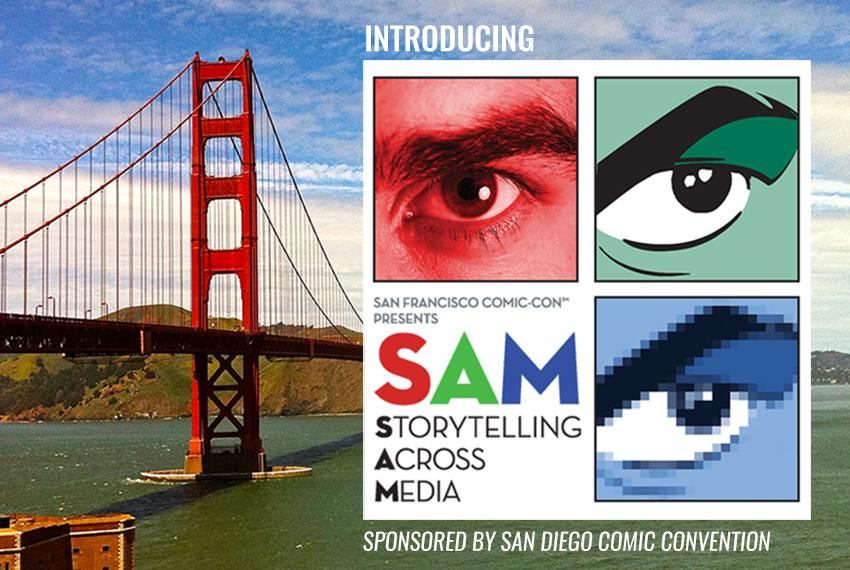 SAM, Storytelling Across Media, Saturday, Nov. 5 at the San Francisco Marriott Marquis