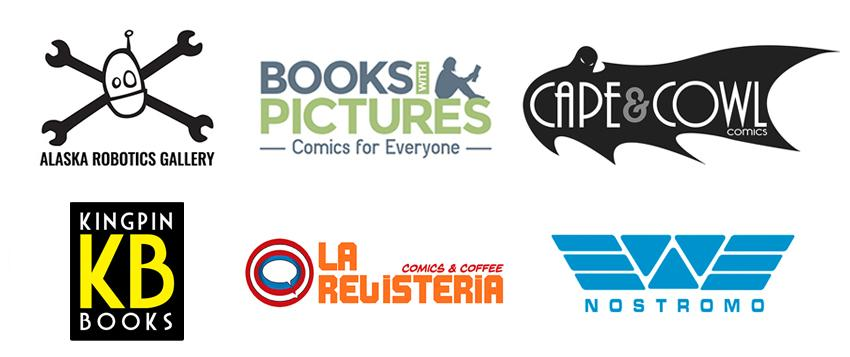 Will Eisner Spirit of Comics Retailer Award 2019 Finalists