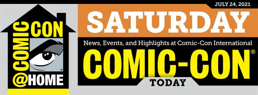 Comic-Con Today Saturday header