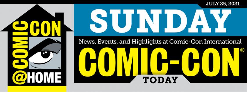 Comic-Con Today: Sunday header