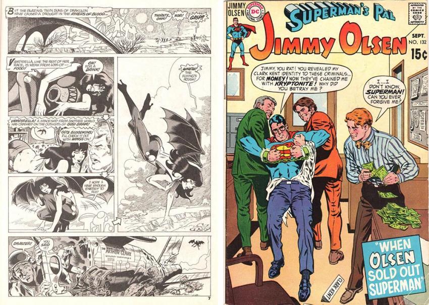 Vampirella and Jimmy Olsen