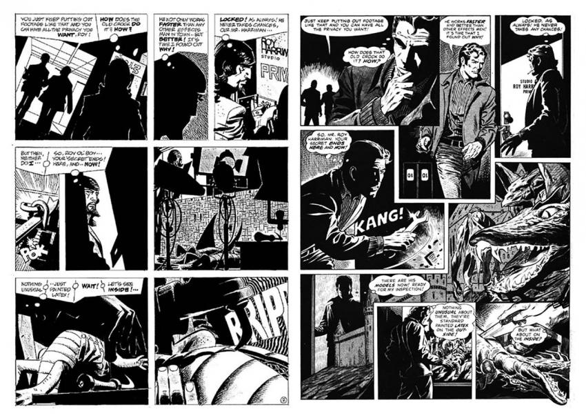 Alex Toth and Dan Adkins in Creepy #123
