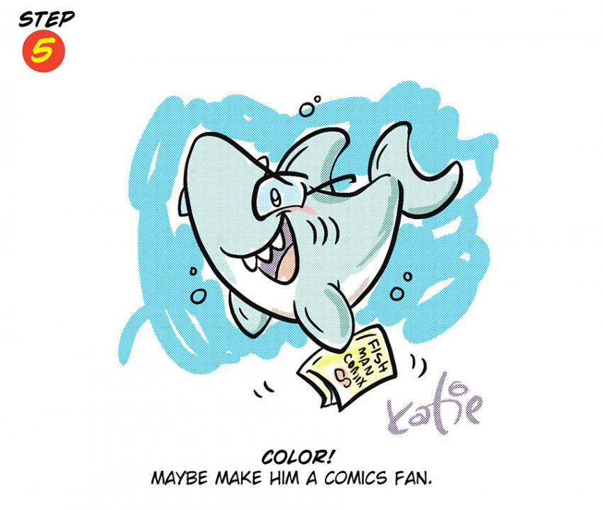How to Draw a Shark with Katie Cook