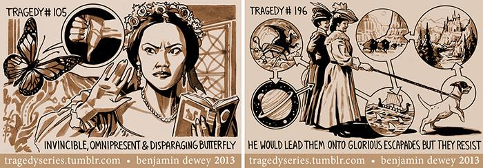The Tragedy Series by Benjamin Dewey