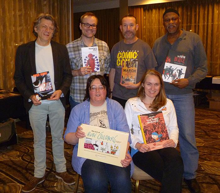2014 Eisner Award Judges