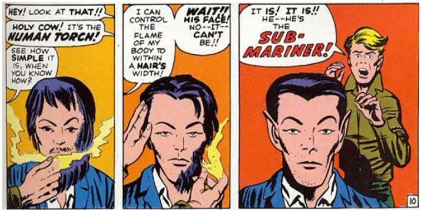 Sub-Mariner from Fantastic Four #4