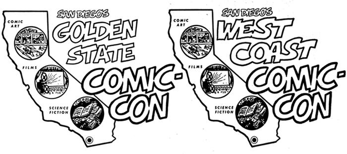 Comic-Con's First Logos