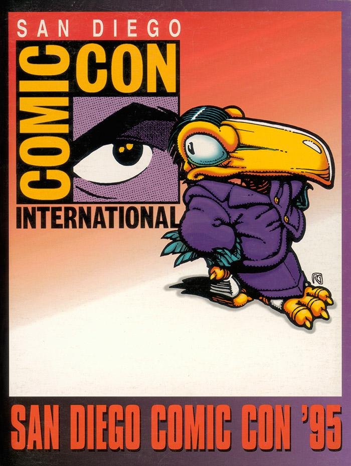 Comic-Con International 1995 Souvenir Book Cover