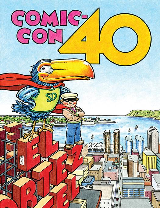 Comic-Con International 2009 Souvenir Book Cover