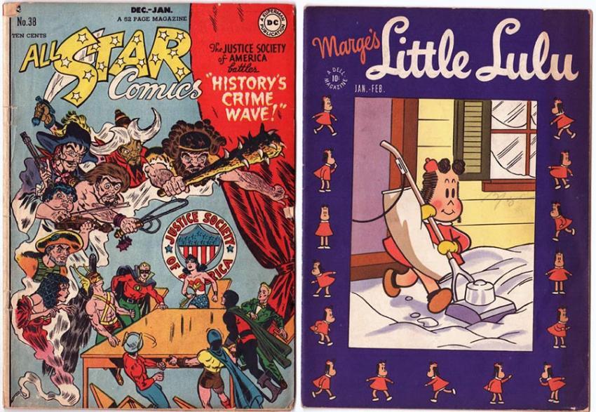 All Star Comics and Little Lulu