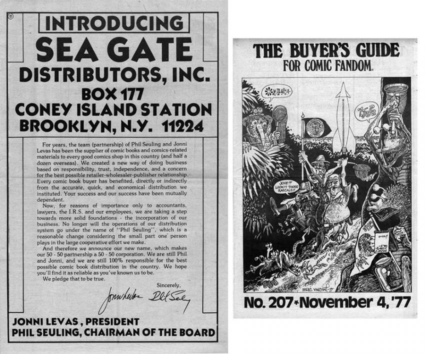 Sea Gate Distribution Ad