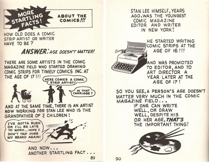 Stan Lee, Secrets Behind the Comics