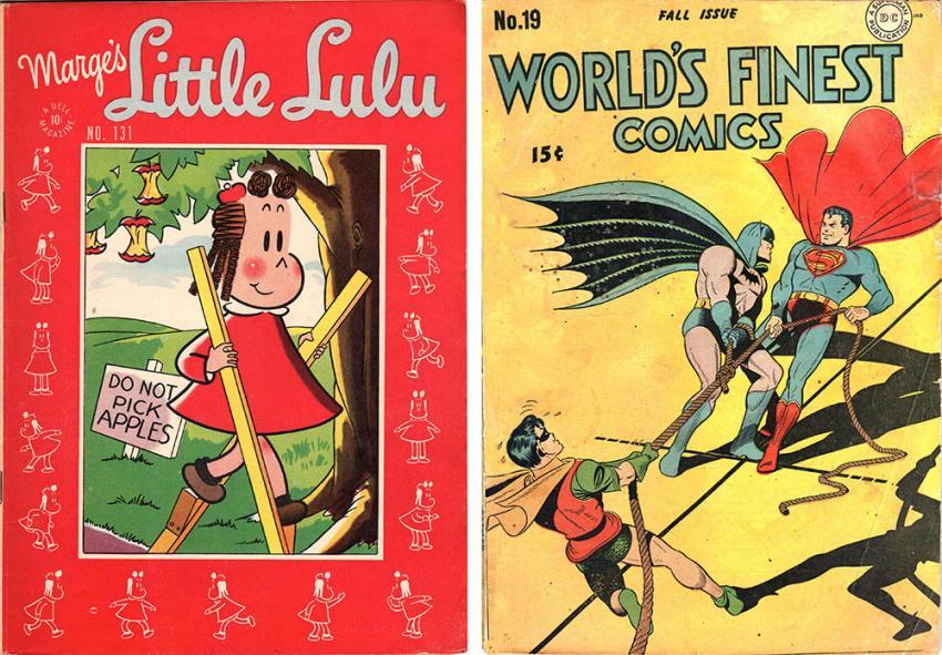 Little Lulu, Worlds Finest Comics