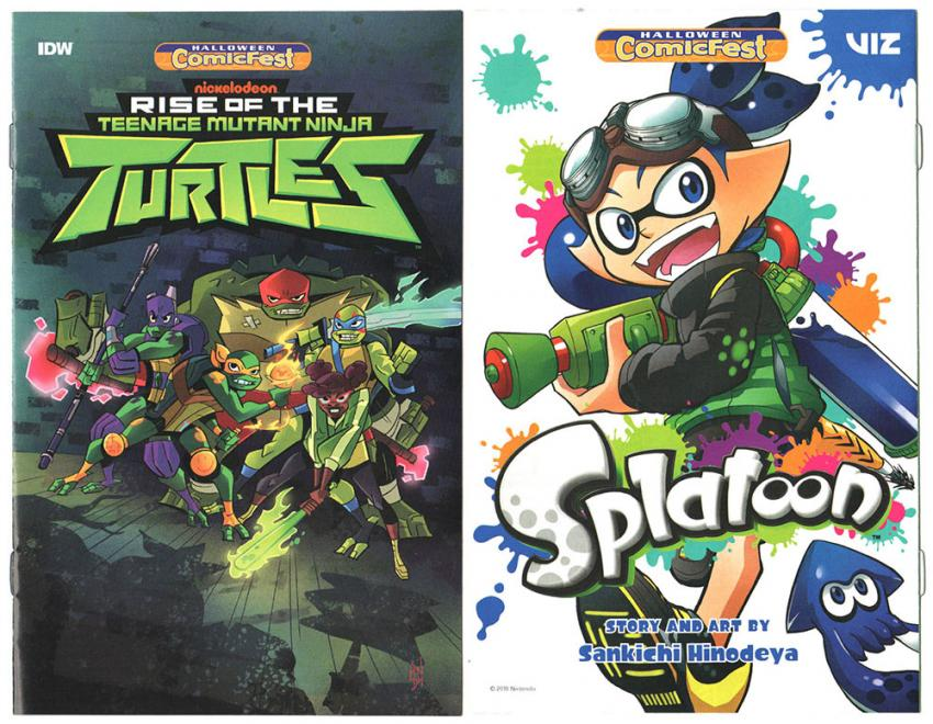 TMNT and Splatoon
