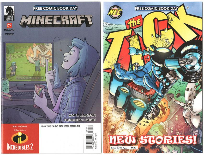 Minecraft and The Tick