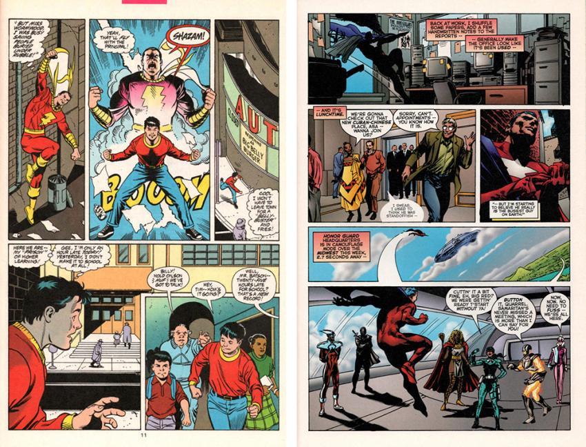 Power of Shazam and Astro City