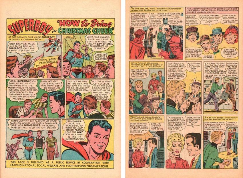 Manners in Comics: Superboy and Spider-Man