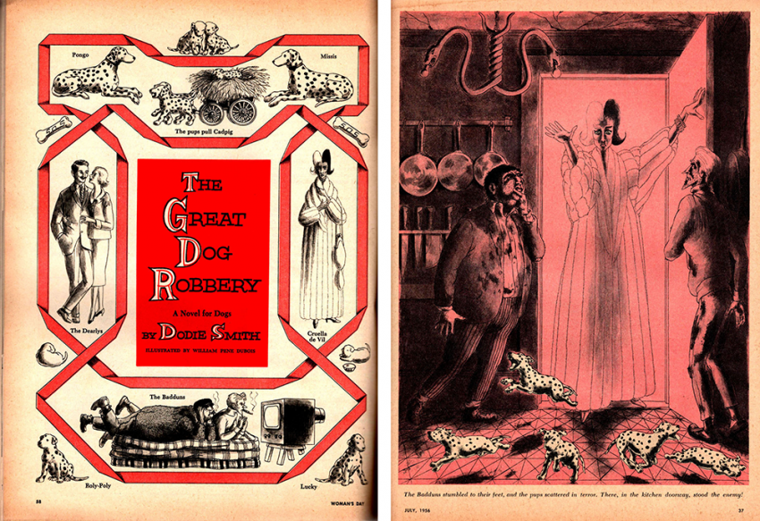 The Great Dog Robbery, a Novel for Dogs, by Dodie Smith, illustrated by William Pene Dubois
