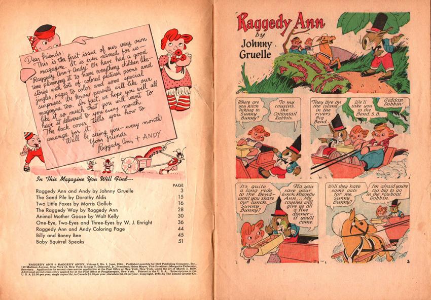 Raggedy Ann by Johnny Gruelle