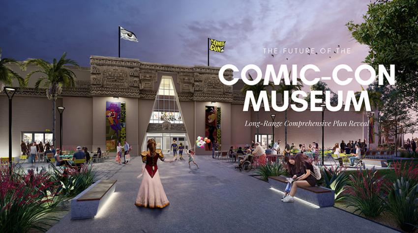 Comic-Con Museum Long-Range Comprehensive Plan Reveal