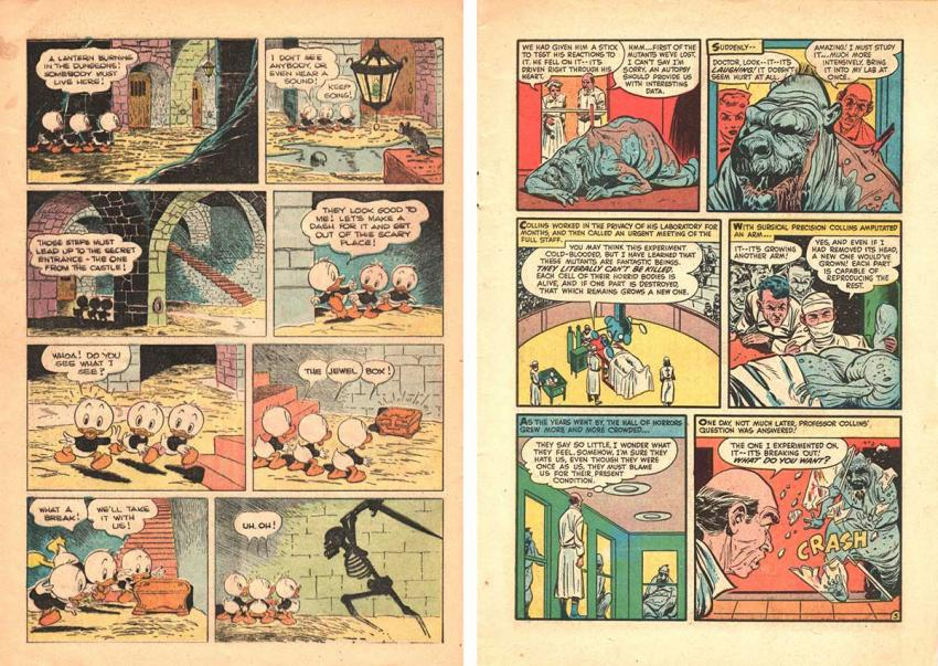 Donald Duck and Black Cat Mystery