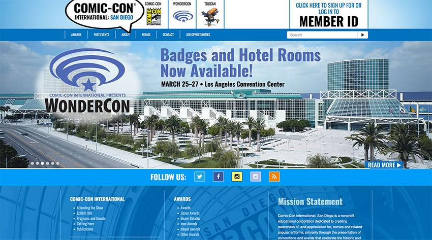 Comic-Con International's Toucan, the Only OFFICIAL SDCC Blog
