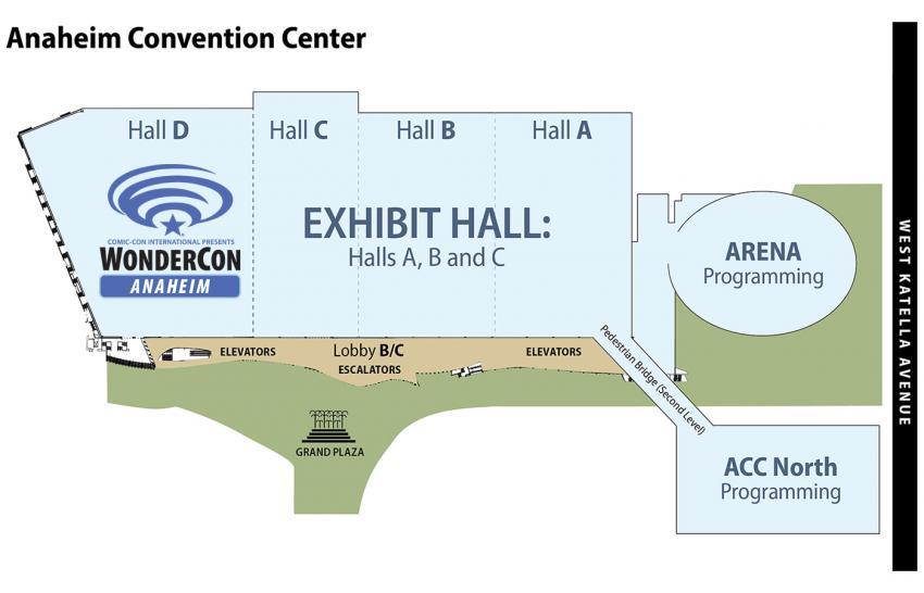 WonderCon Anaheim 2018 at the Anaheim Convention Center