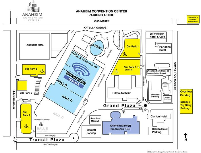 Anaheim Convention Center Parking