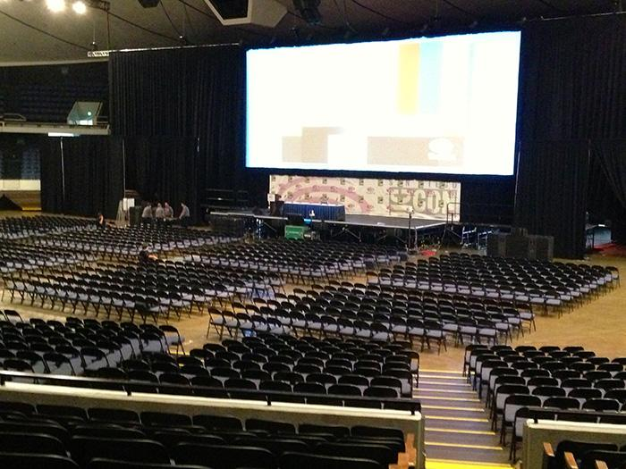 The Arena at WonderCon Anaheim
