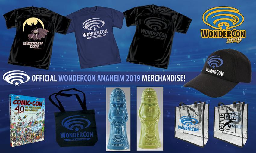 Official WonderCon Anaheim 2019 T-shirts and Merchandise