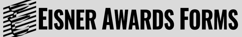 Eisner Awards Forms
