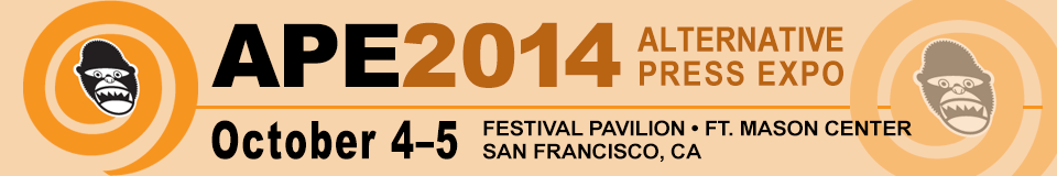 APE, the Alternative Press Exp, Oct. 4-5, 2014, Fort Mason Center